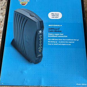 Motorola Surfboard Cable Modem SB5101 for Sale in Phoenix, AZ