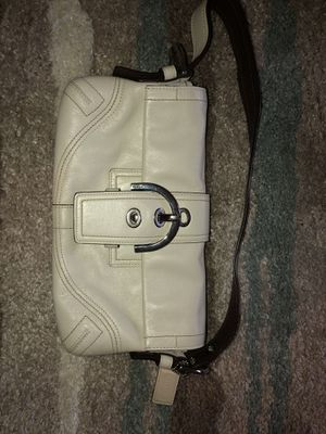 Coach White Leather Hobo Bag for Sale in New York, NY