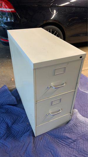 Two drawer filing cabinet for Sale in Glen Ellyn, IL
