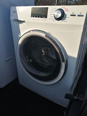 $275 is a super bargain for such a almost like new never been used beautiful washer and matching dryer set a side or a top each other your choice for Sale in Grand Prairie, TX