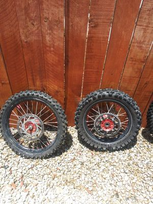 Dirt bike wheelset for Sale in Menifee, CA
