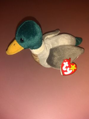 Rare Jake the duck Beanie Baby for Sale in Dahlonega, GA