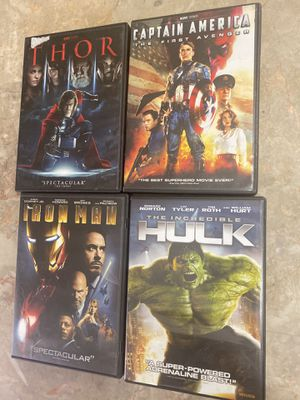 Marvel Movies (Animated & Live Action) $5 each. for Sale in Apache Junction, AZ