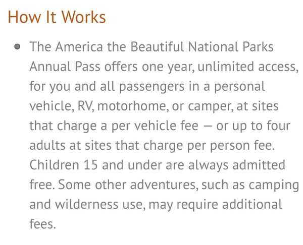 US ANNUAL 2019 - 2020 NATIONAL PARK PASS
