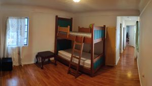 Solid wood (Heavy) Bunk Bed with matresses for Sale in Los Angeles, CA