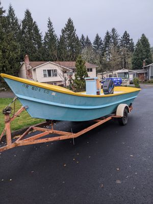 22ft dory fishing boat for Sale in Gresham, OR