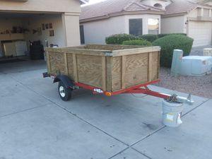 Utility trailer 8\5 SIZE for Sale in Gilbert, AZ