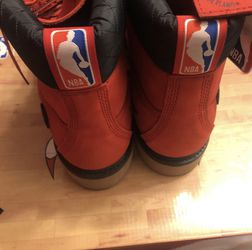 Red Chicago Bull Timberlands Limited Edition for Sale in Minneapolis, MN