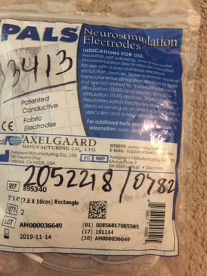 FREE: nuero stimulation electrodes (used) for Sale in Maitland, FL