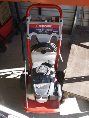 Troy bilt pressure washer for Sale in Jackson, TN