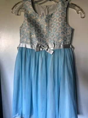 Blue Dress (Kids Size 7) for Sale in Upland, CA