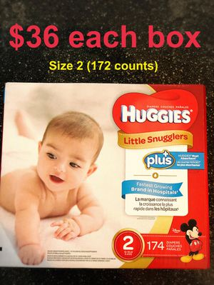 Huggies little snugglers size 2 for Sale in Downey, CA
