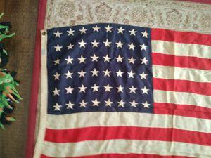 Vintage 48 star american flag for Sale in Eldon, IA