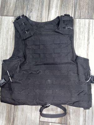 Plain Tactical Vest Black for Sale in Paramount, CA