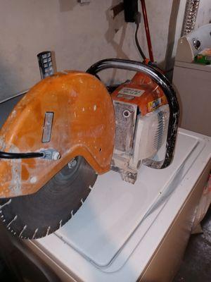 Stihl ts400 concrete saw. for Sale in Toledo, OH