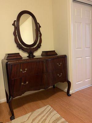 Antique wood dresser for Sale in Franconia, VA