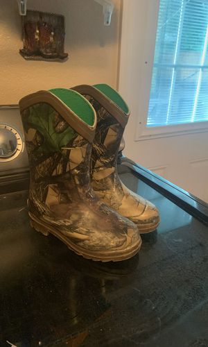Boys Rain boots size 10 for Sale in Plant City, FL
