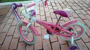 Schwinn twilight girls bike bicycle with training wheels for Sale in Miami, FL