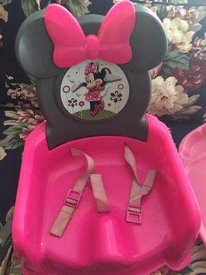 Minnie Mouse booster seat for Sale in Houston, TX