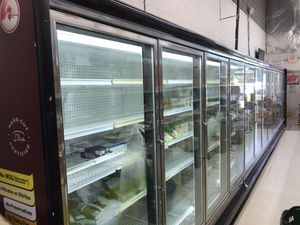Commercial 12 door Freezer with new compressor for Sale in Ashburn, VA