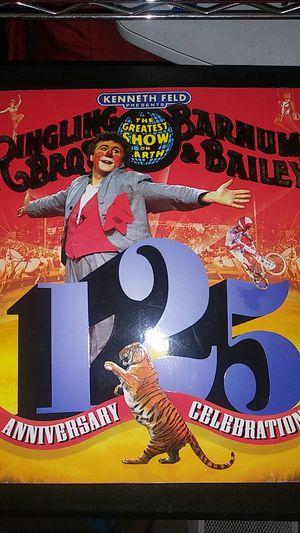Ringling Bro. Barnun & Bailey 125 Anniversary Celebration $25 for Sale in El Cajon, CA