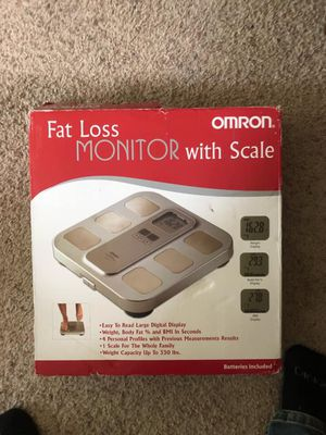 Fat Loss Monitor with Scale for Sale in Trimble, MO
