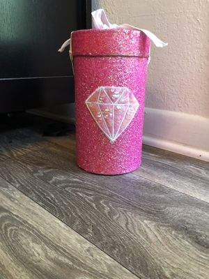 Pink bling storage container for Sale in Orlando, FL