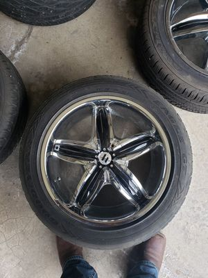 Helo Rims and Goodyear Tires for Sale in Overland Park, KS