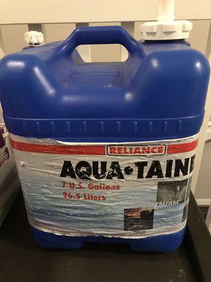7 gallon water container for Sale in Miami, FL