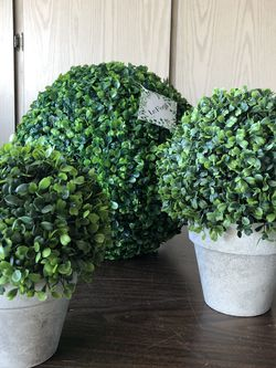 Faux Boxwood Topiarys & Boxwood Ball for Sale in Tempe,  AZ