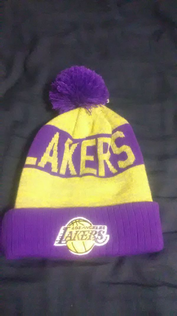 Mitchell & Ness Lakers Beanie
