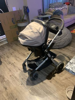 Evenflo stroller+Car seat. With bassinet attachment for Sale in Allen, TX