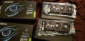 2 gigabyte geforce gtx 770 4gb both for sell together in good condition for Sale in Fort Pierce, FL