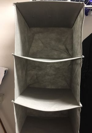 Organizer for closet 6 sections NEW for Sale in Chesapeake, VA