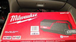 Milwaukee job site speaker for Sale in Elk Grove, CA