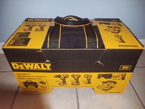 BRAND NEW DEWALT 5-Tool 20-Volt Max Power Tool Combo Kit with Soft Case (Charger Included and 2-Batteries Included) for Sale in Winter Haven, FL