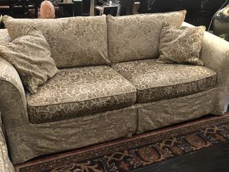Rowe Slipcover Sofa And Loveseat For Sale for Sale in Arvada,  CO