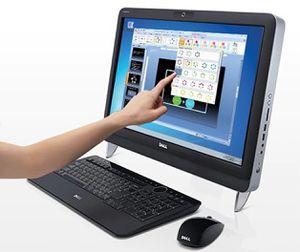 """23"""" Dell Vostro 330 All In One Core i3 Touch Screen for Sale in Stockton, CA"""