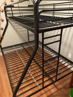 Bunk bed. Full bottom twin top. for Sale in Portland, OR
