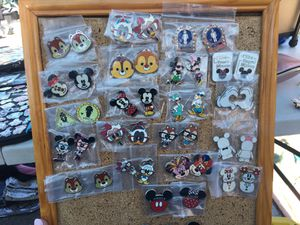 AUTHENTIC DISNEY PINS $5 FOR THE SET OR $3 EACH for Sale in San Diego, CA