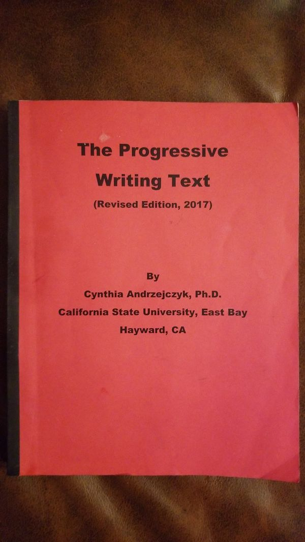The Progressive Writing Text