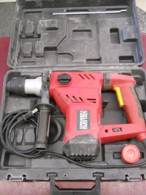 """1-1/8"""" SDS ROTARY HAMMER DRILL WITH CHISEL ACTION HAMMERDRILL for Sale in Columbus, OH"""