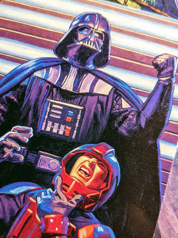 1996 Topps Finest Shadows of the Empire Cards