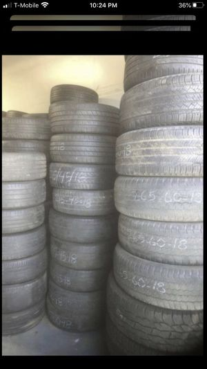 Used tires $15-$20 each. All sizes listed in my offers. for Sale in Temecula, CA