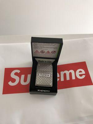 Supreme Diamond Plate Zippo Lighter for Sale in Corona, CA