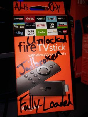 Fire TV Stick MEGA20 FULLY-LOADED Adults Only for Sale in Houston, TX