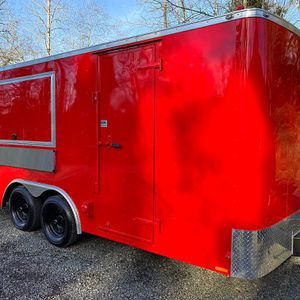 Red Food Trailer for Sale in Portland, OR