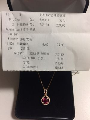 """18"""" gold chain necklace from Kay Jewelry for Sale in Sheridan, CO"""