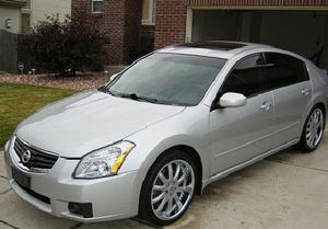 Very Nice 2007 Nissan Maxima SL FWDWheels-Low miles/price for Sale in Columbus, GA