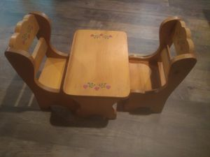Doll table and chairs for Sale in Williamsport, PA